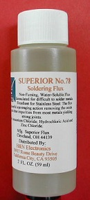 No.78 Stainless Soldering Flux